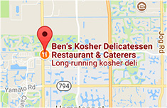 Map of Our Boca Raton, FL Location