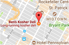 Map of Our Manhattan, NYC Location