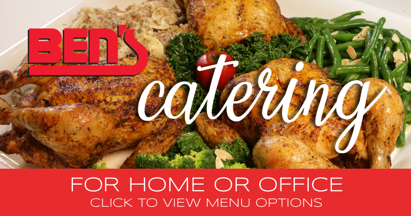Ben's Catering for Home or Office