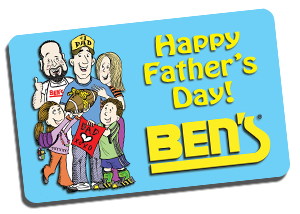 Ben's Father's Day eGift Cards