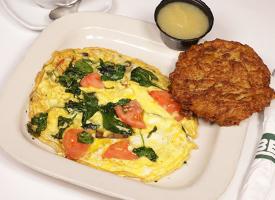 Ben's Manhattan Brunch: Build Your Own Omelette
