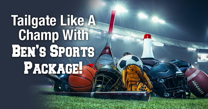 Ben's Sports Package for 5 or more