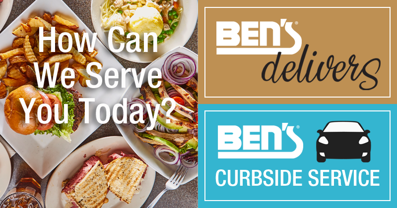 Ben's Online Ordering, Delivery & Curbside Service